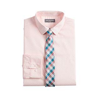 Boys 8-20 Van Heusen Button-Up Shirt & Tie Set