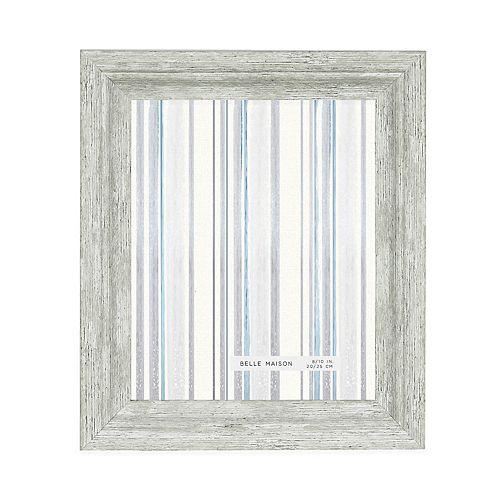 Belle Maison White Distressed Frame