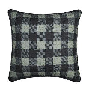 Donna Sharp Bear Walk Plaid Throw Pillow