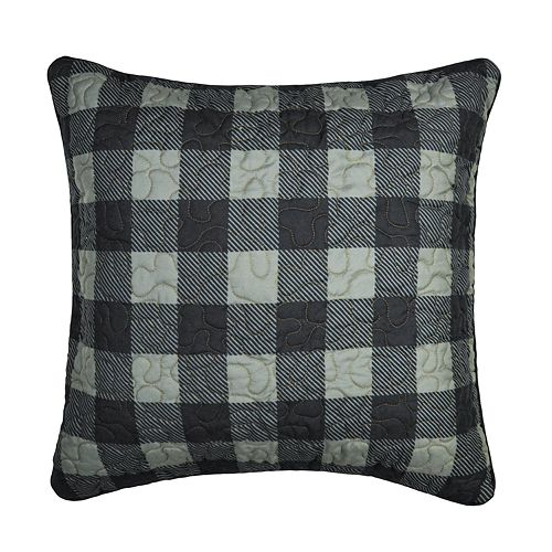 Donna Sharp Bear Walk Plaid Throw Pillow