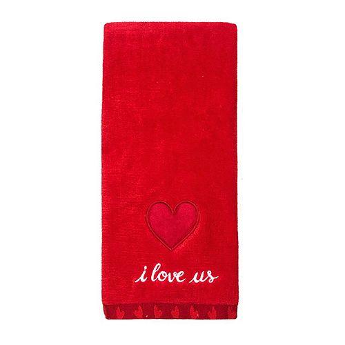 Celebrate Valentine's Together I Love Us Hand Towel