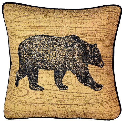 Donna Sharp Oakland Bear Pillow