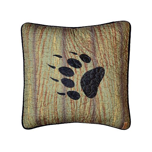 Donna Sharp Oakland Paw Pillow