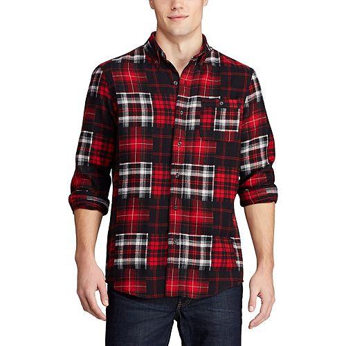 Men's Chaps Go Untucked Button-Down Shirt