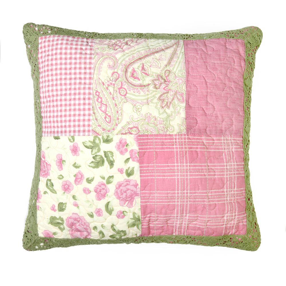 Donna Sharp Bashful Rose Throw Pillow