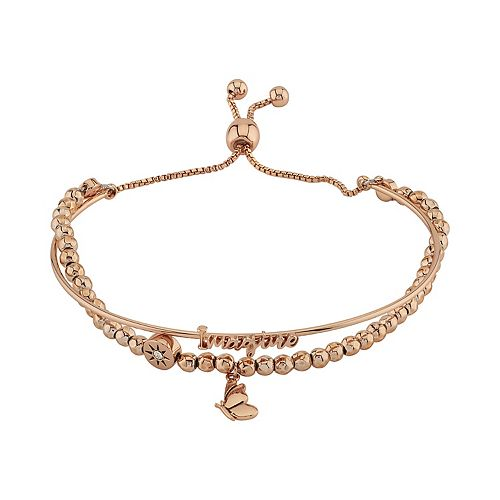 LovethisLife® Butterfly & Star Bolo Bracelet