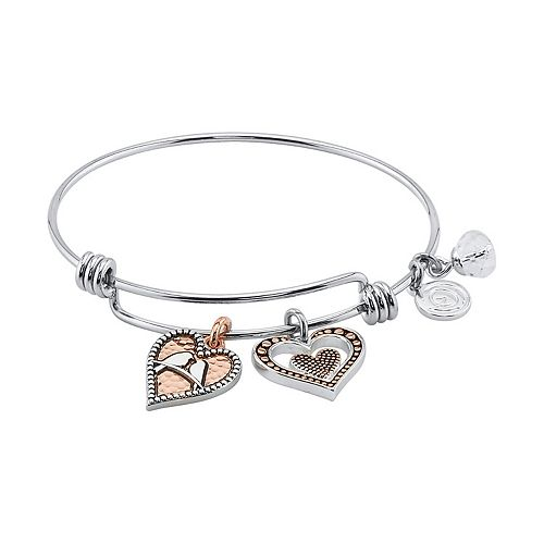 "LovethisLife® ""Sisters, Birds of a Feather"" Bangle Bracelet"