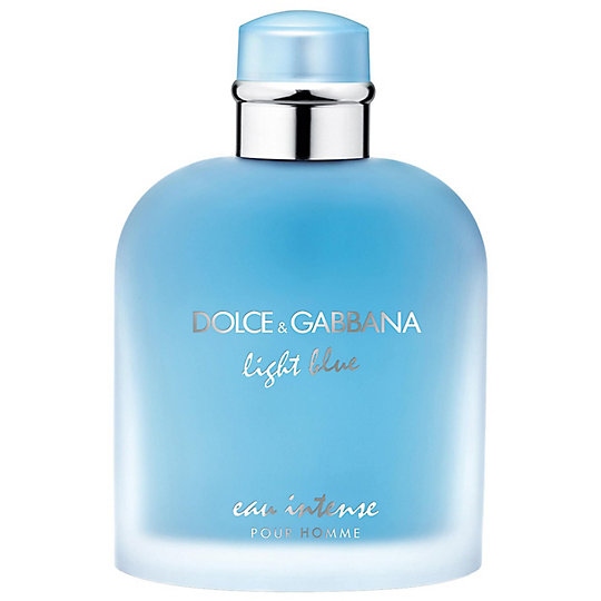 Dolce Gabbana Light Blue Eau Intense Men S Cologne Eau De Parfum