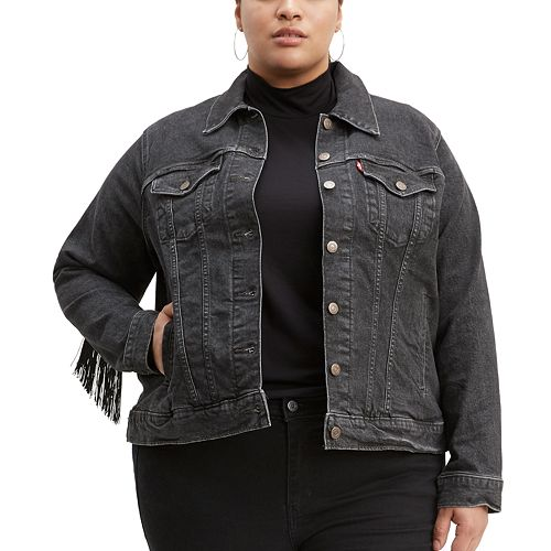 Plus Size Levi's® Ex-Boyfriend Trucker Jacket