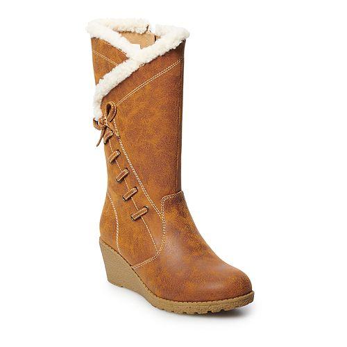 Rachel Shoes Katia Girls' Wedge Boots