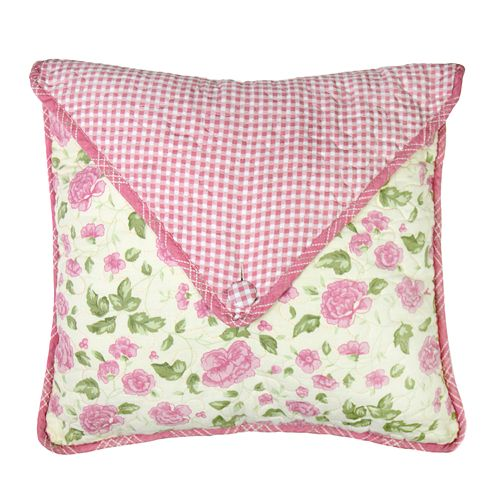 Donna Sharp Bashful Rose Envelope Pillow