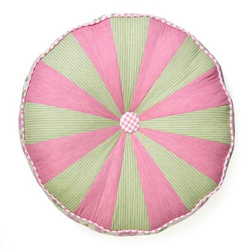 Donna Sharp Bashful Rose Round Pillow