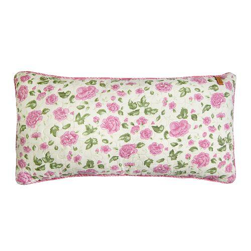 Donna Sharp Bashful Rose Rectangle Pillow