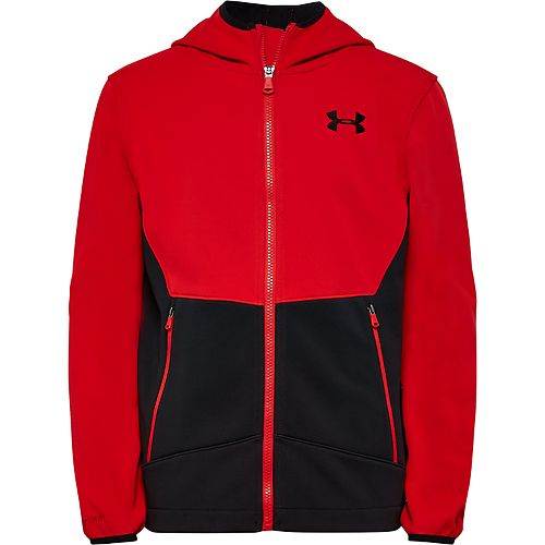 Boys 4-7 Under Armour Soft Zip-Front Jacket