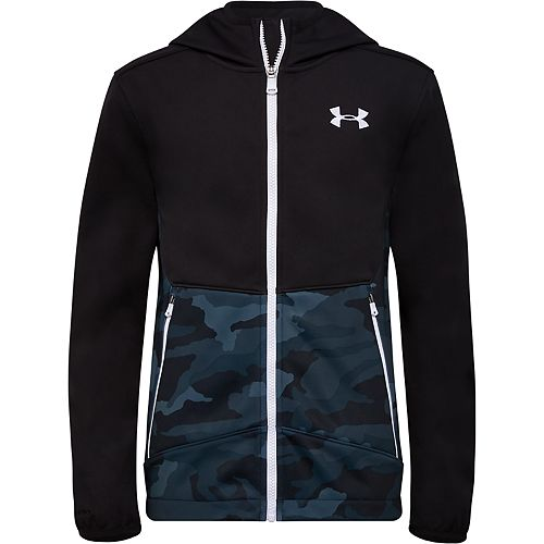 Boys 4-7 Under Armour Camouflage Print Soft Zip-Front Jacket