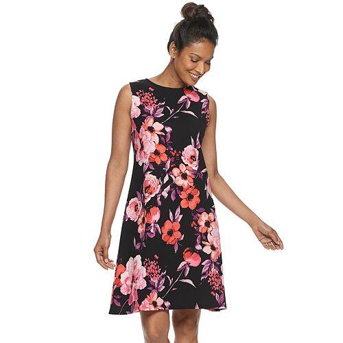 Women's Croft & Barrow® Textured Fit & Flare Dress
