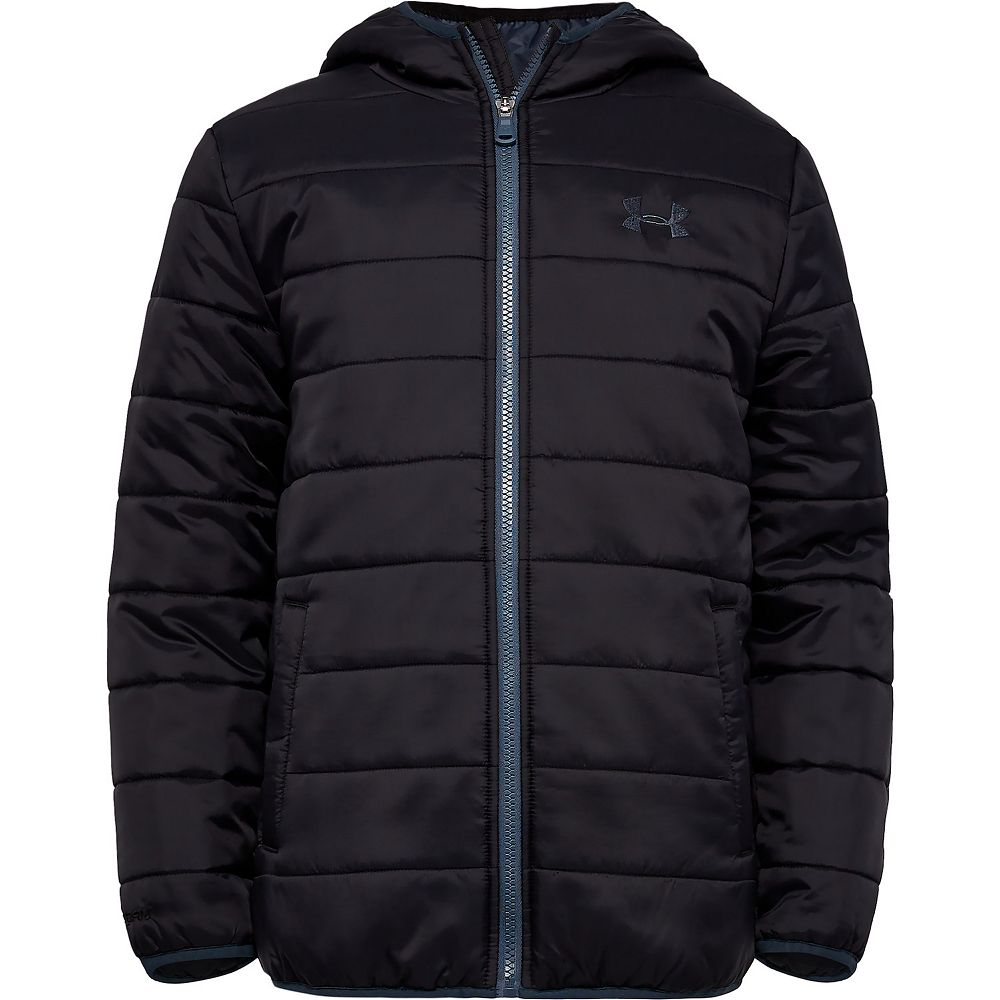 Boys 4-7 Under Armour Pronto Puffer Hooded Midweight Jacket