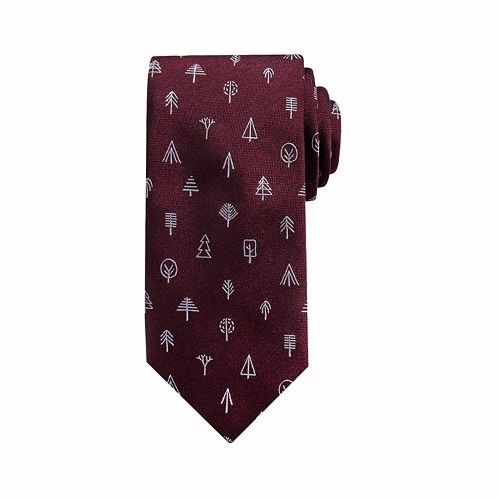 Men's damen + hastings Oakland Tree Novelty Skinny Tie