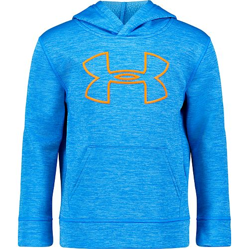 Boys 4-7 Under Armour Bold Logo Twist Pullover Hoodie