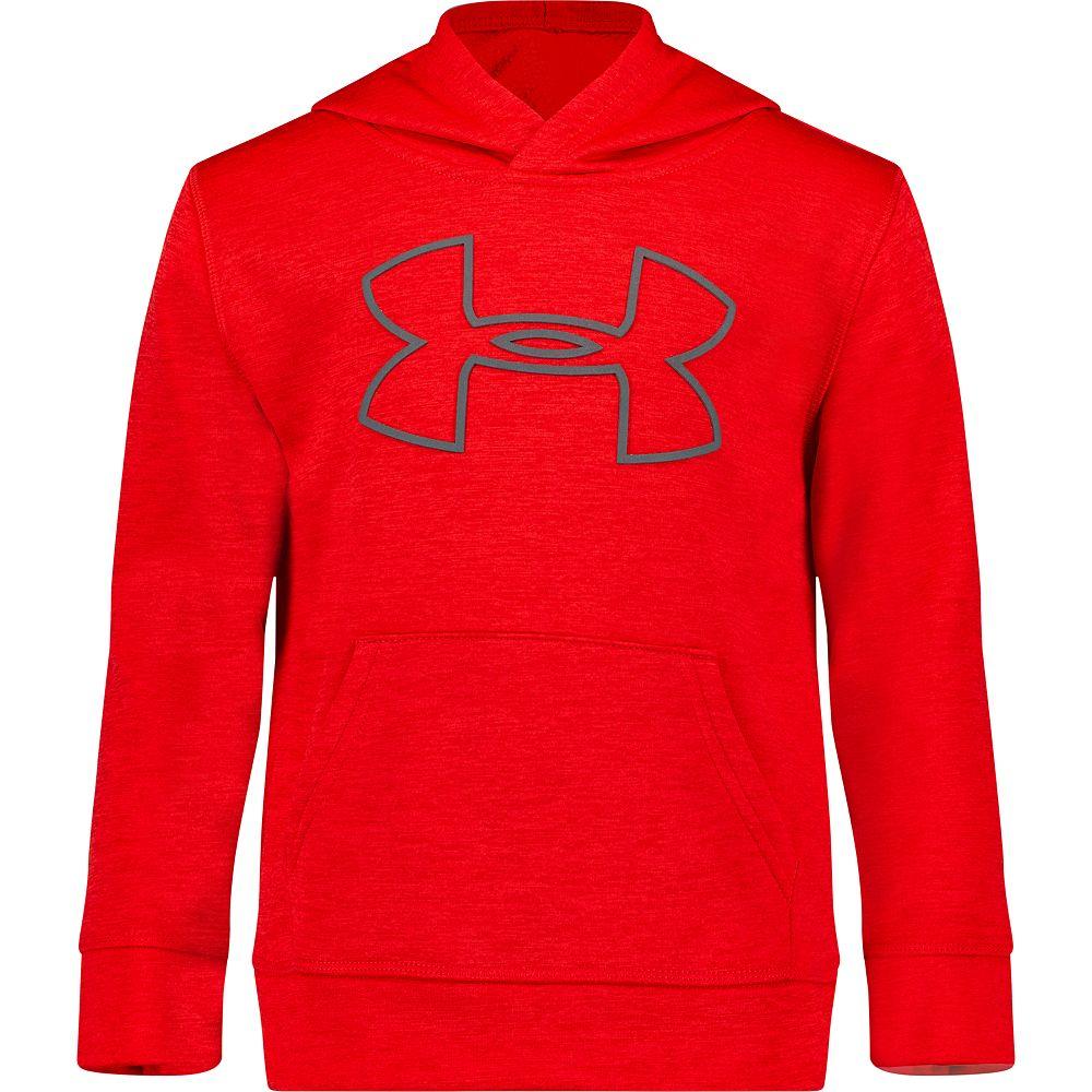 Boys 4-7 Under Armour Bold Logo Twist Pullover Hoodie