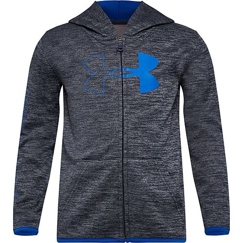 Boys 4-7 Under Armour Half Icon Twist Hoodie