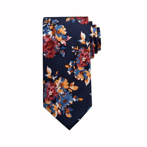 Men's damen + hastings Burbank Floral Skinny Tie