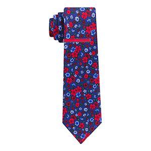 Men's Croft & Barrow® Tie and Tie Bar Set