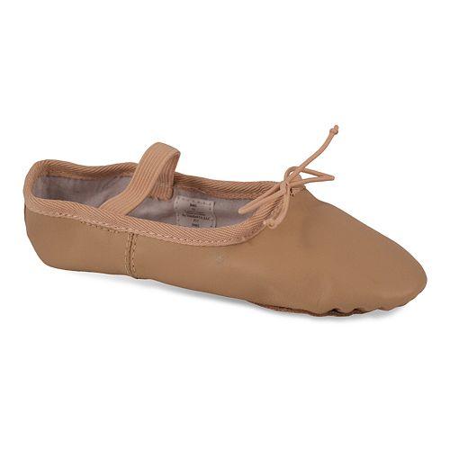 Dance Class One Piece Sole Toddler Girls' Ballet Shoes