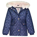Toddler Girl Carter's Heavyweight Hooded Jacket
