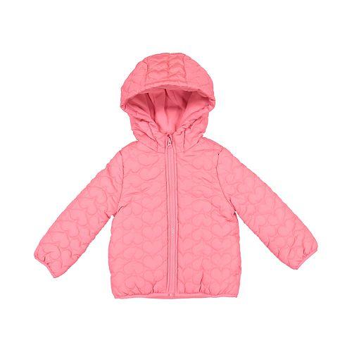 Baby Girl Carter's Hooded Heart Jacket