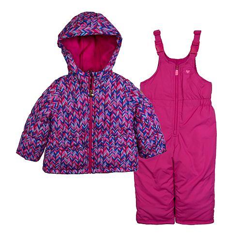 Toddler Girl OshKosh B'gosh® Print Snowsuit