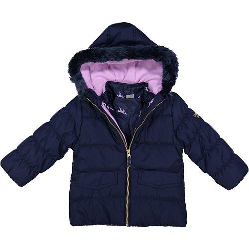 Toddler Girl OshKosh B'gosh® Navy 4-in-1 Systems Jacket