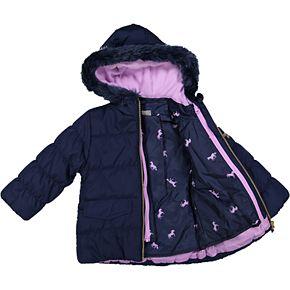 Toddler Girl OshKosh B?gosh® Navy 4-in-1 Systems Jacket