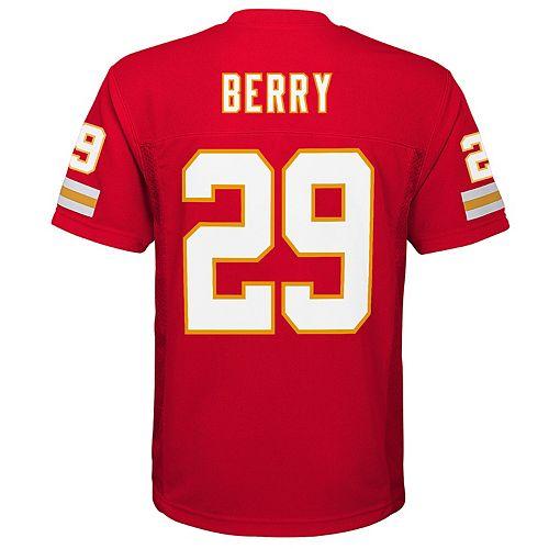 Boys 8-20 Kansas City Chiefs Eric Berry Replica Jersey