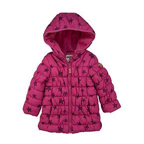 Toddler Girl OshKosh B?gosh® Magenta Star Long Length Coat