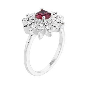 Brilliance Marquise Starburst Ring with Swarovski Crystal
