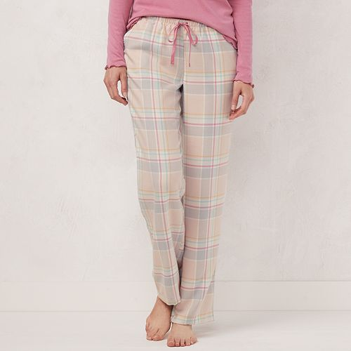 Women's LC Lauren Conrad Flannel Sleep Pants