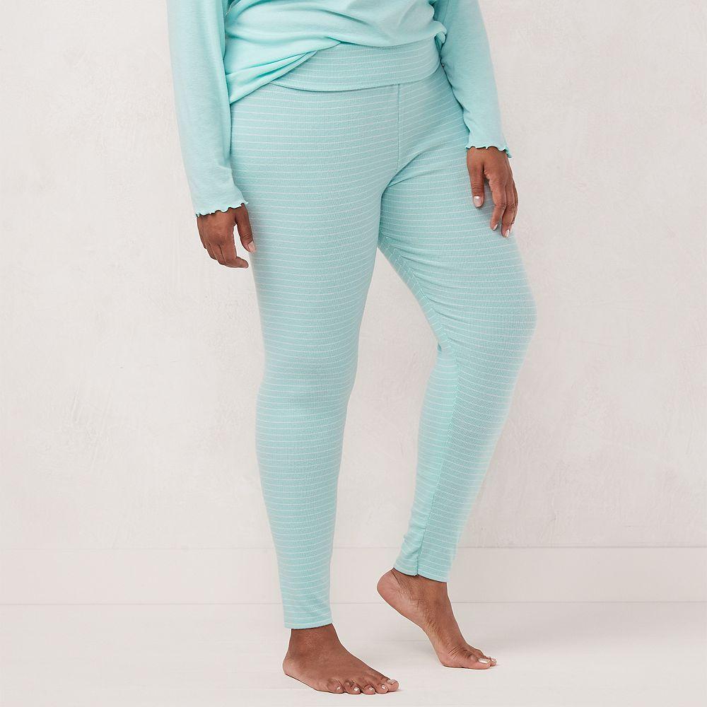 Plus Size LC Lauren Conrad Fold Over Sleep Pants