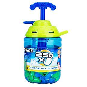 Zuru X-SHOT - Water Warfare - Water Balloons - Large Rapid Balloon Pumper with 250 Balloons