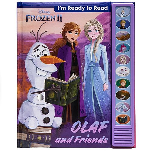 Disney's Frozen 2 Olaf and Friends I'm Ready to Read Book
