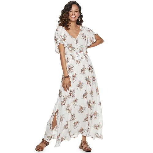 Juniors' American Rag Tulip Maxi Dress