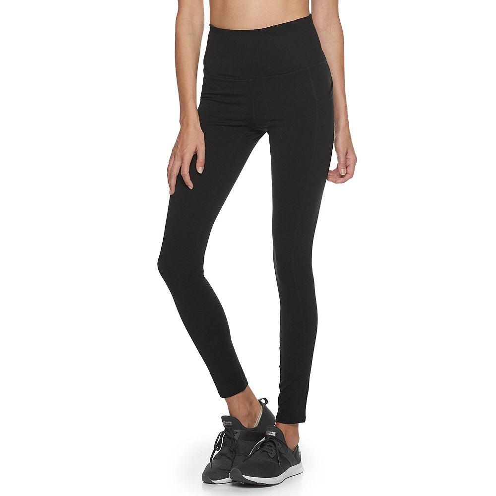 Women's Gaiam Om High Rise Pocket Yoga Leggings