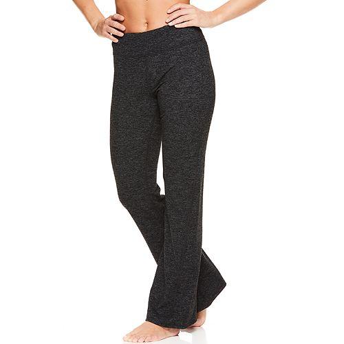 Women's Gaiam Marled Yoga Pant