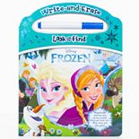 Disney's Frozen Girl's Write & Erase Look and Find Book