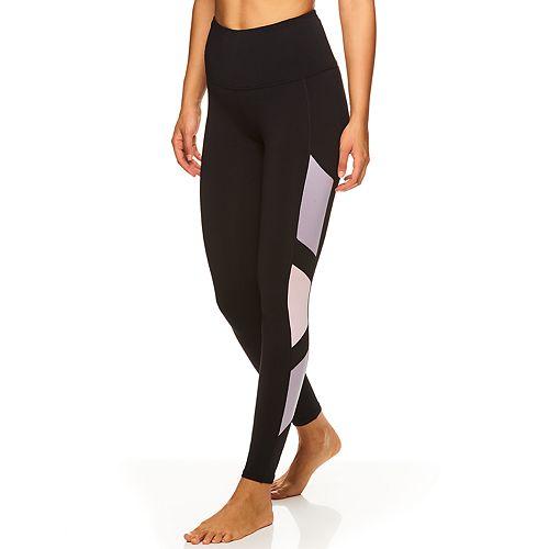 Women's Gaiam Hi-Rise Shine Colorblock 7/8 Leggings