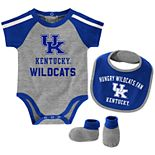 Baby Boy Kentucky Wildcats Tackle 3-Piece Bodysuit Set