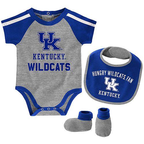 Baby Boy Kentucky Wildcats Tackle 3-Piece Bodysuit Set