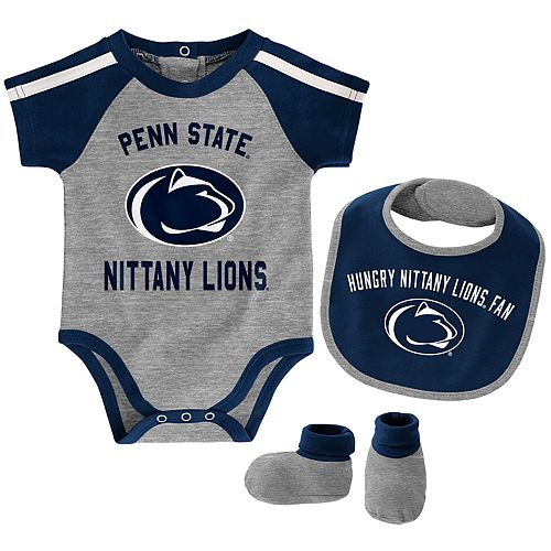 Baby Boy Penn State Nittany Lions Tackle 3-Piece Bodysuit Set