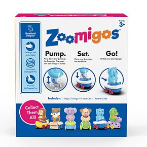 Learning Rescources Educational Insights Zoomigos Hippo with Rowboat Zoomer