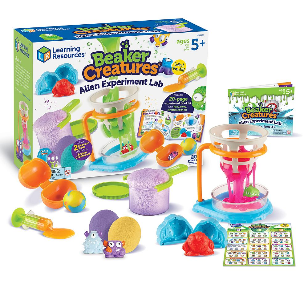 Learning Resources Beaker Creatures Alien Experiment Lab